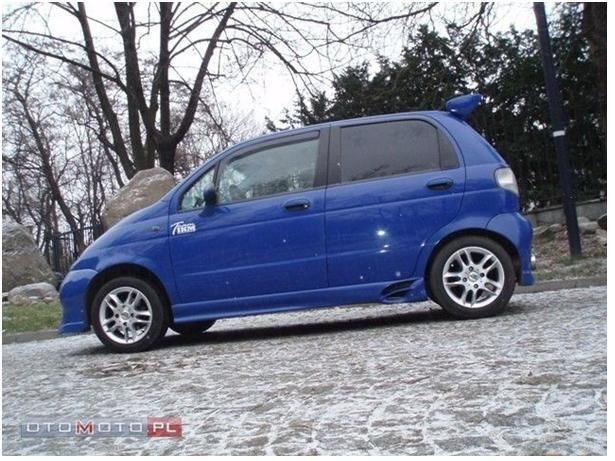 Daewoo Matiz Top Custom Cars Daewoo Car