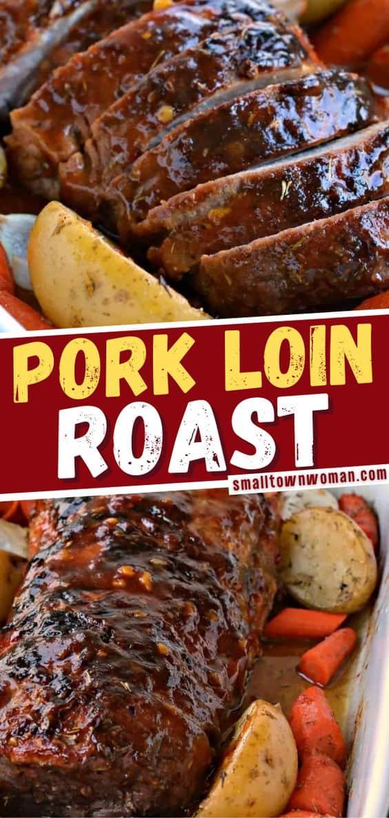 Pork Loin Roast Recipe Pork Loin Roast Pork Loin Recipes Pork Recipes