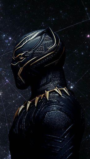 Black Panther 2018 Movie Mobile Phone Wallpaper Background Lockscreen Black Panther Marvel Black Panther Art Black Panther