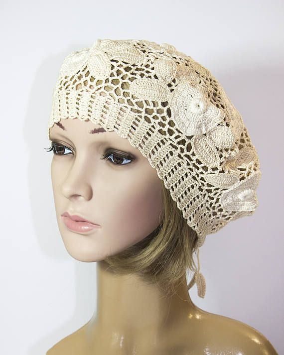 005df760f9f Crochet lace hat summer