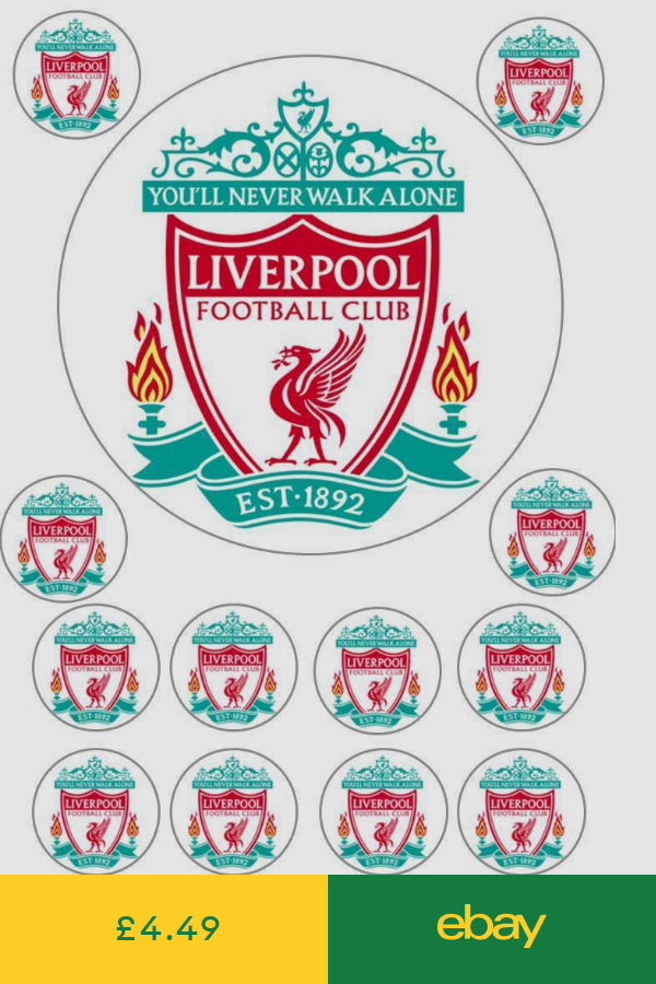 Decorations Cake Toppers Home Furniture Diy Ebay Liverpool Cake Liverpool Football Liverpool