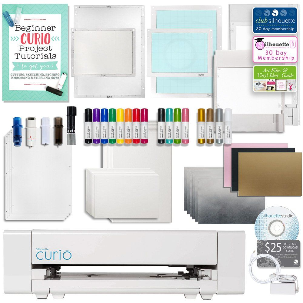 Silhouette Curio Crafting Machine Review Best Craft Cutter 2019 Silhouette Curio Curio Silhouette