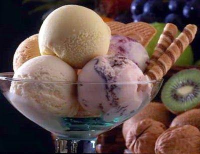 طريقة عمل البوظة الحليب Natural Ice Cream Honey Ice Cream Ice Milk