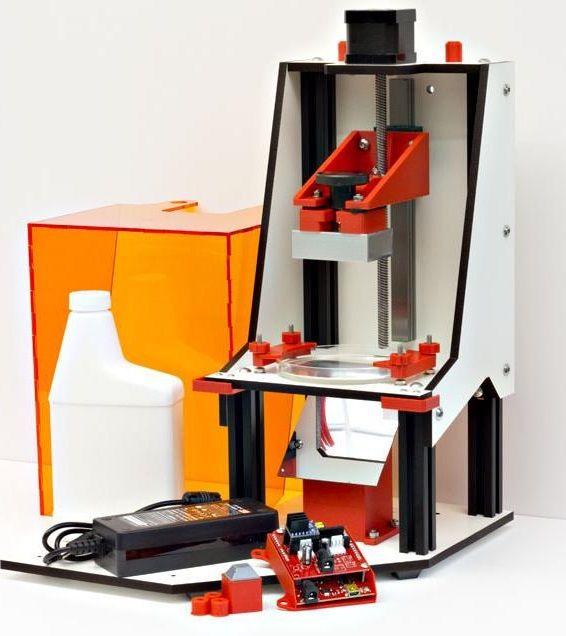 Little RP DLP 3D Printer Impressora 3d, Impressora