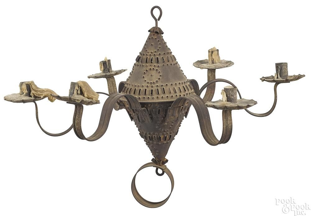 Punched tin chandelier price estimate 800 1200 lighting punched tin chandelier price estimate 800 1200 mozeypictures Image collections