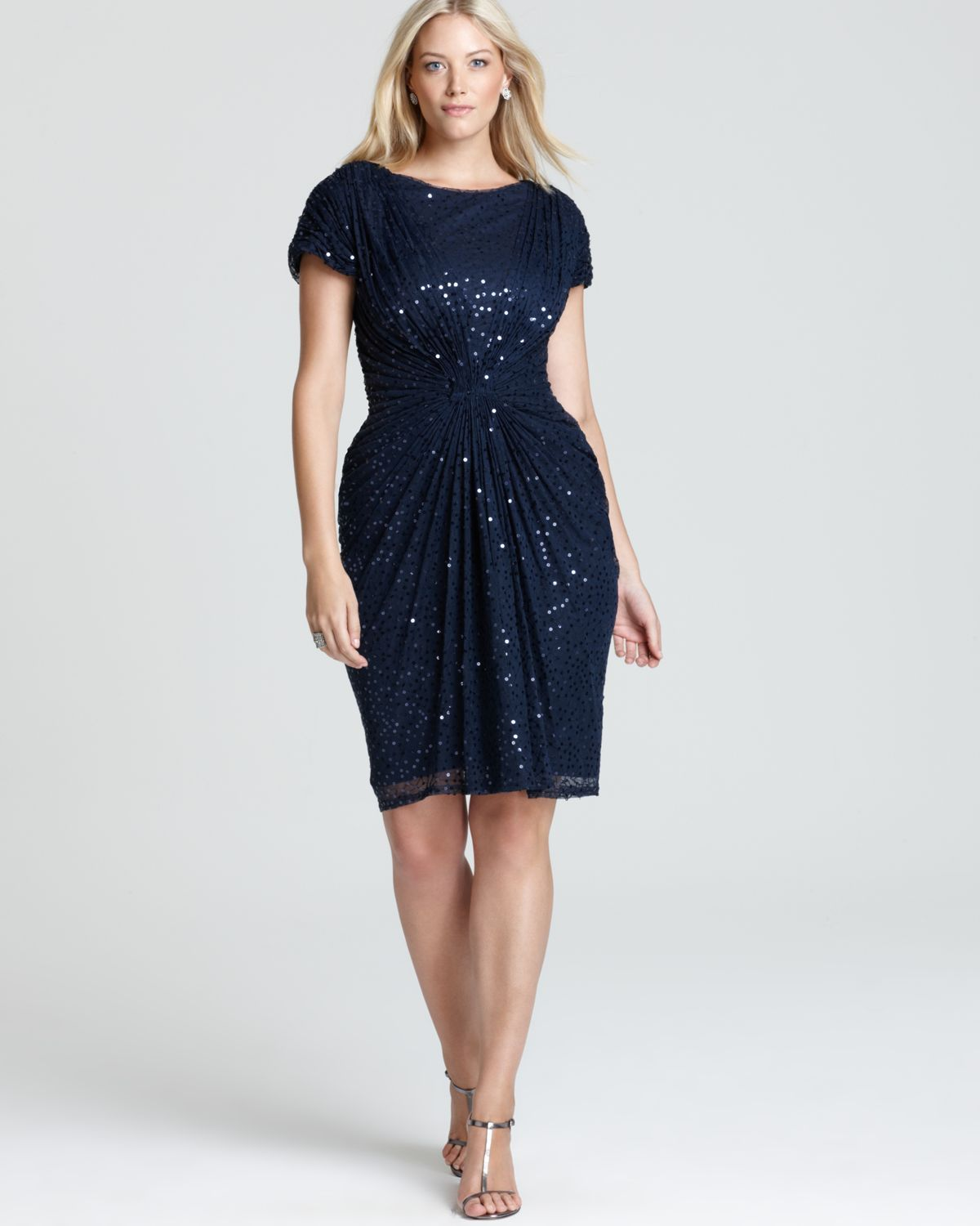 7d17a75cf6b Christmas party dress Navy is the New Black | Plus-Size-ME!, Fashion ...