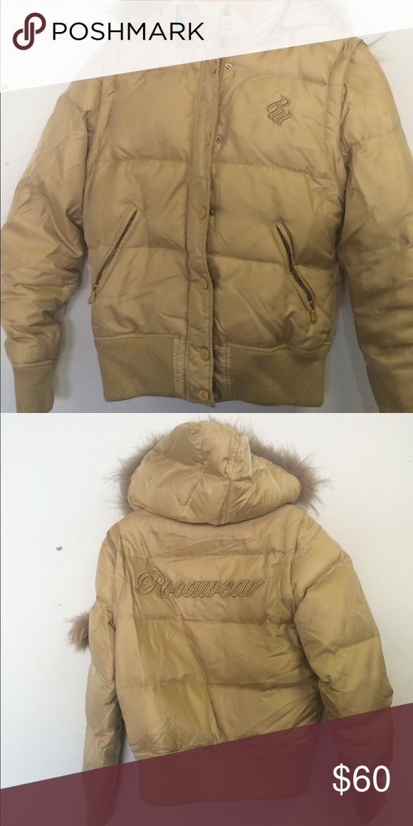 Roca Wear coat/vest Winter coat with removable hoodie and arms to wear as vest Rocawear Jackets & Coats Puffers