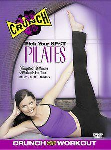 Crunch - Pick Your Spot Pilates (DVD, 2002)
