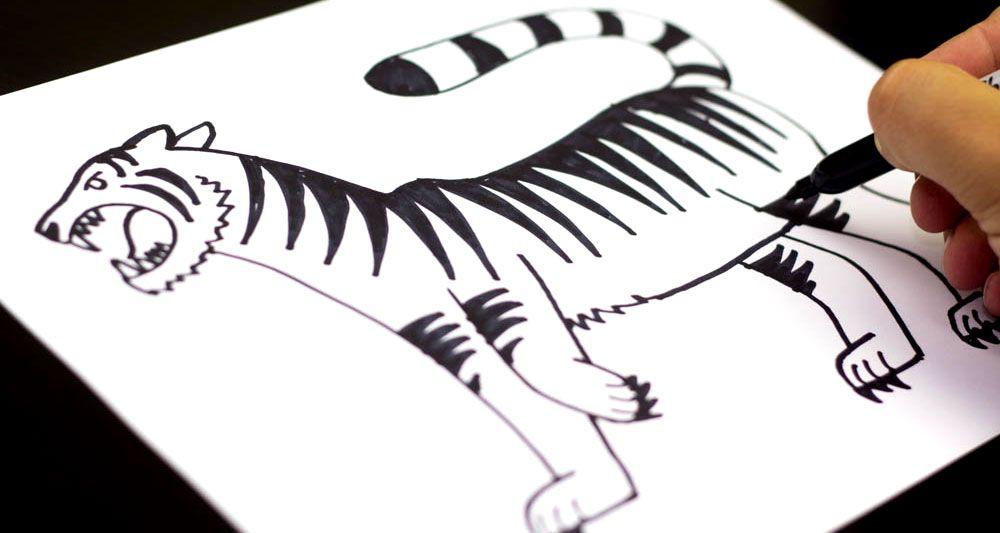How To Draw A Tiger - Art For Kids Hub - | Tigers, Fantastic art ...