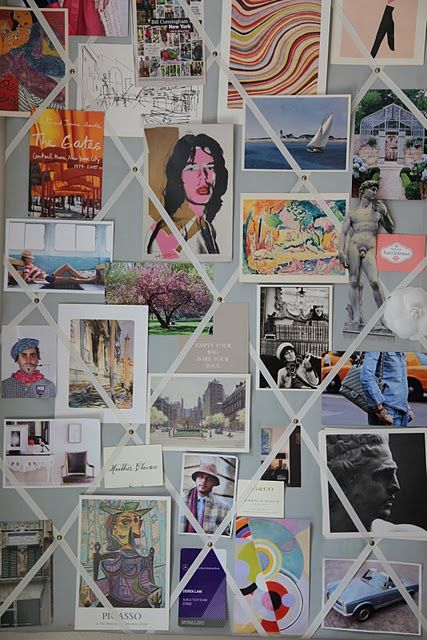 Diy Photo Collage On Poster Board