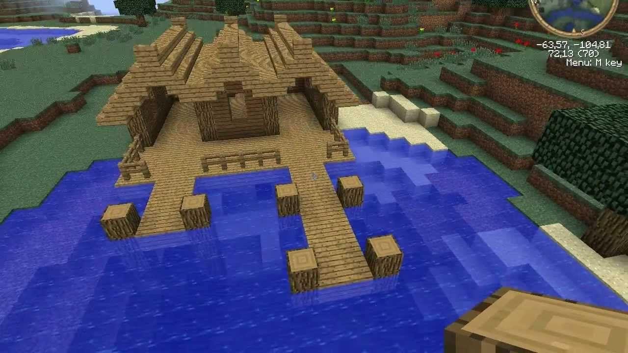 maxresdefault.jpg (11×11)  Minecraft crafts, Minecraft, Dock house