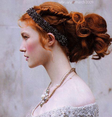 ✄ Fair Hair Flair ✄  Renaissance red head