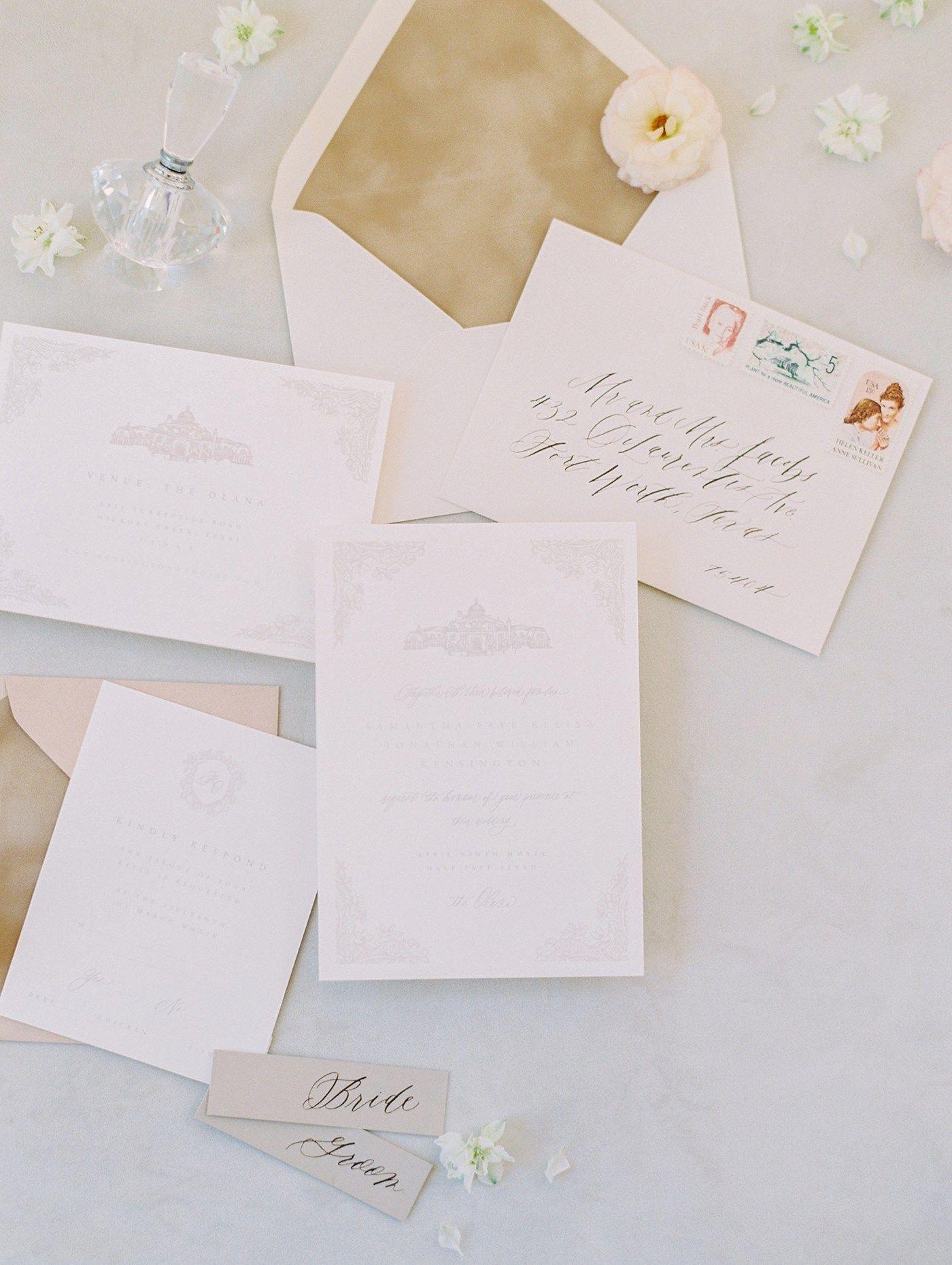Luxurious Parisian Wedding Editorial At The Olana Sarah Ann Design Dallas Wedding Planner Wedding Stationery Design Wedding Interests