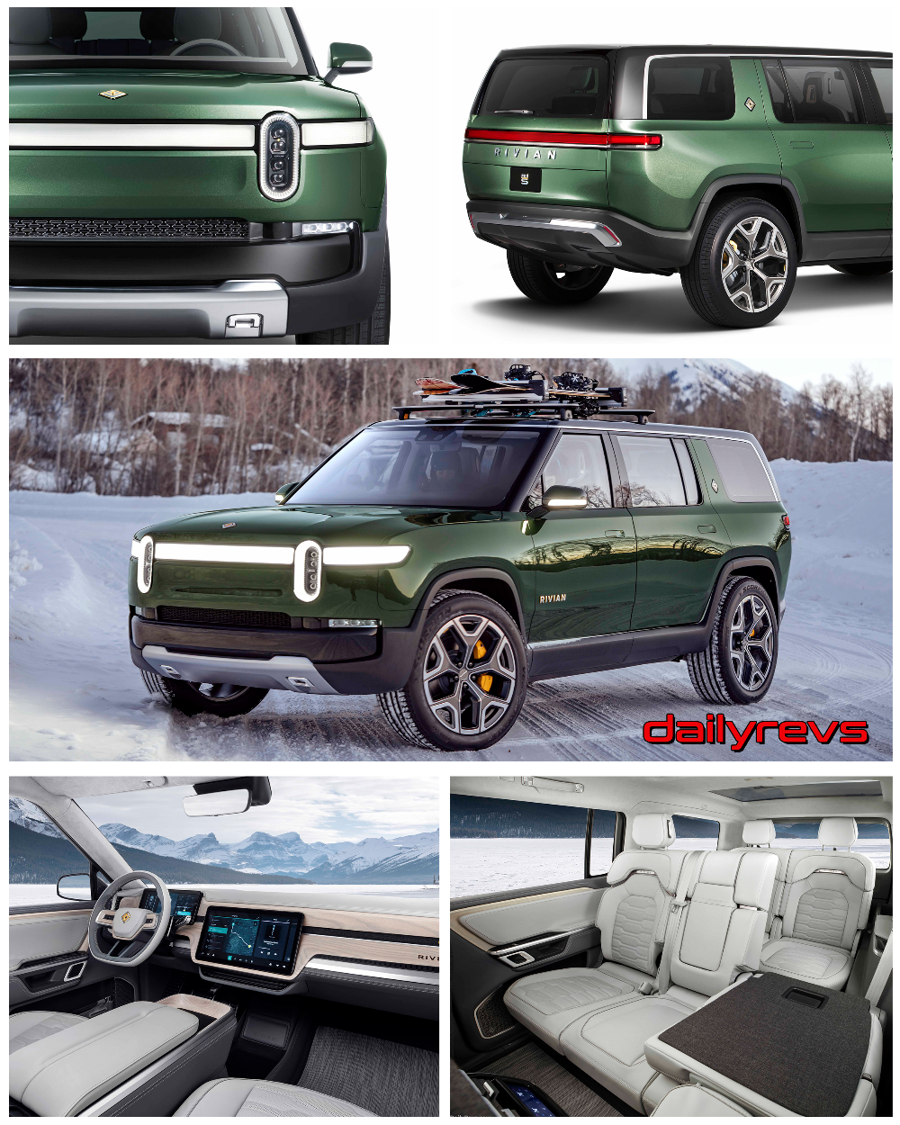 2021 Rivian R1S - HD Pictures, Videos, Specs & Information ...