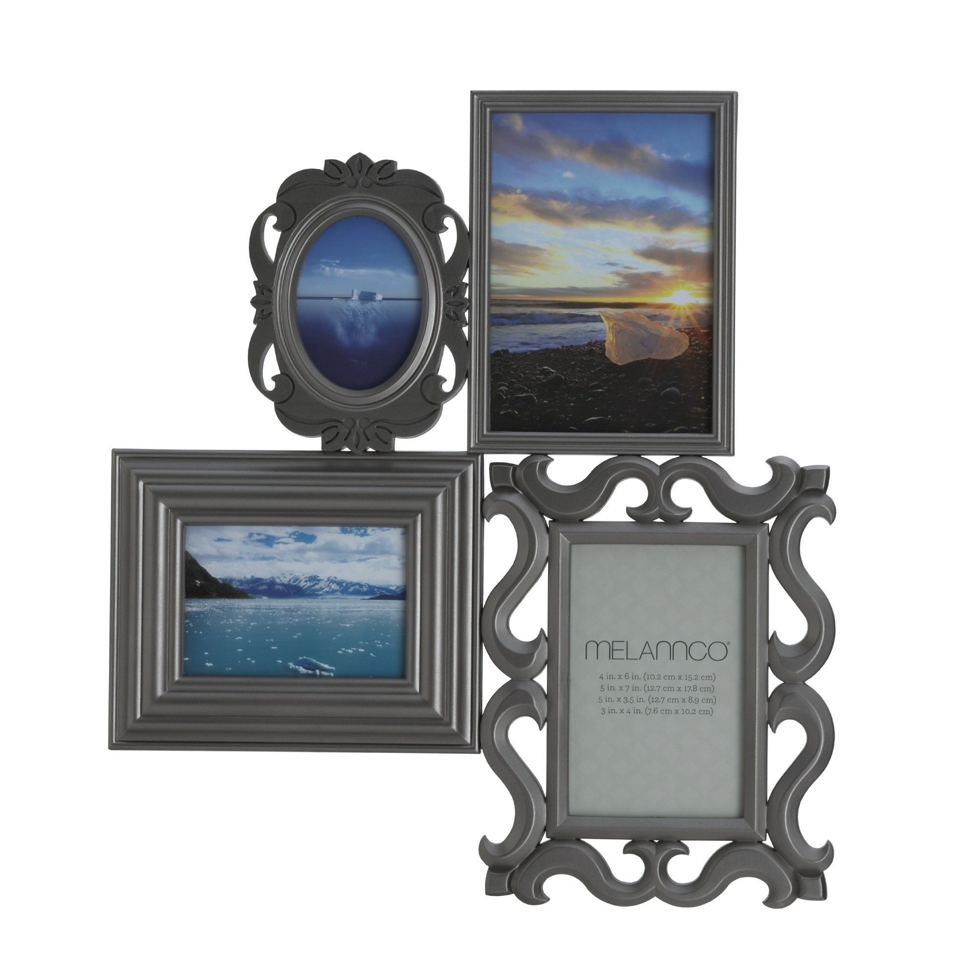 4-Opening Multi Profile Collage Frame | Products | Pinterest | Products