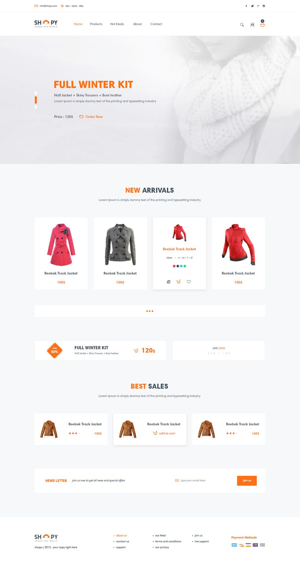 Pin By Css Author On Free E Commerce Web Template Psd Pinterest