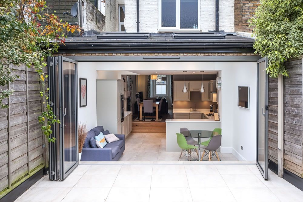 Single-storey Kitchen Extension From L&E (Lofts And Extensions) In Teddington