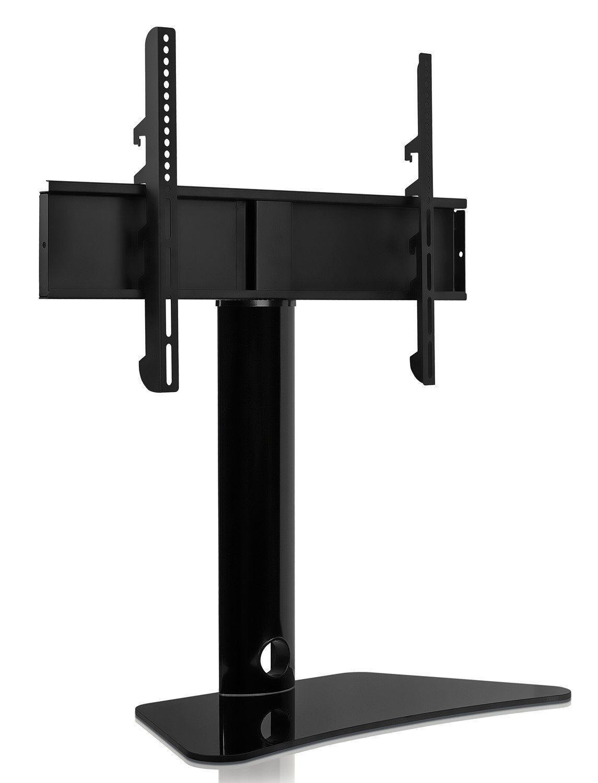 Universal Stand Tabletop Tv Bracket Swivel Fixed Desktop Mount 32