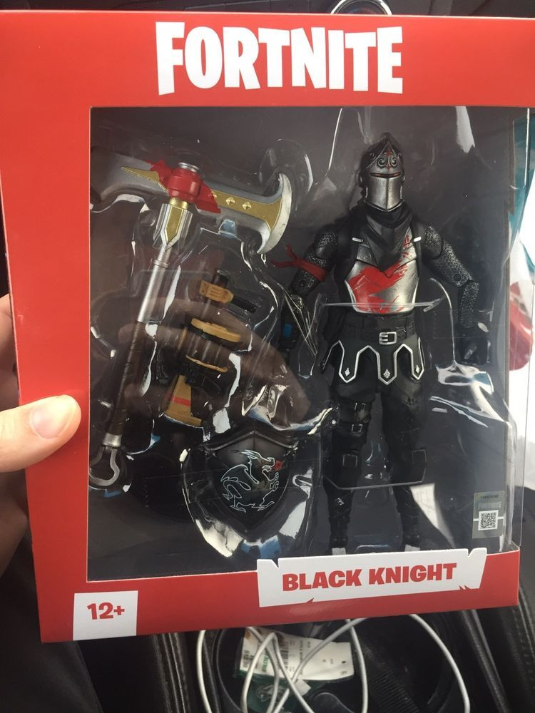 Mcfarlane Fortnite Black Knight Figure In Hand Fortnite
