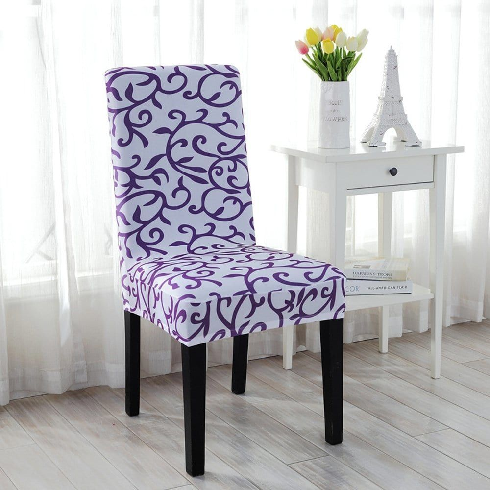 Stretchy Dining Chair Cover Short Chair Covers Washable