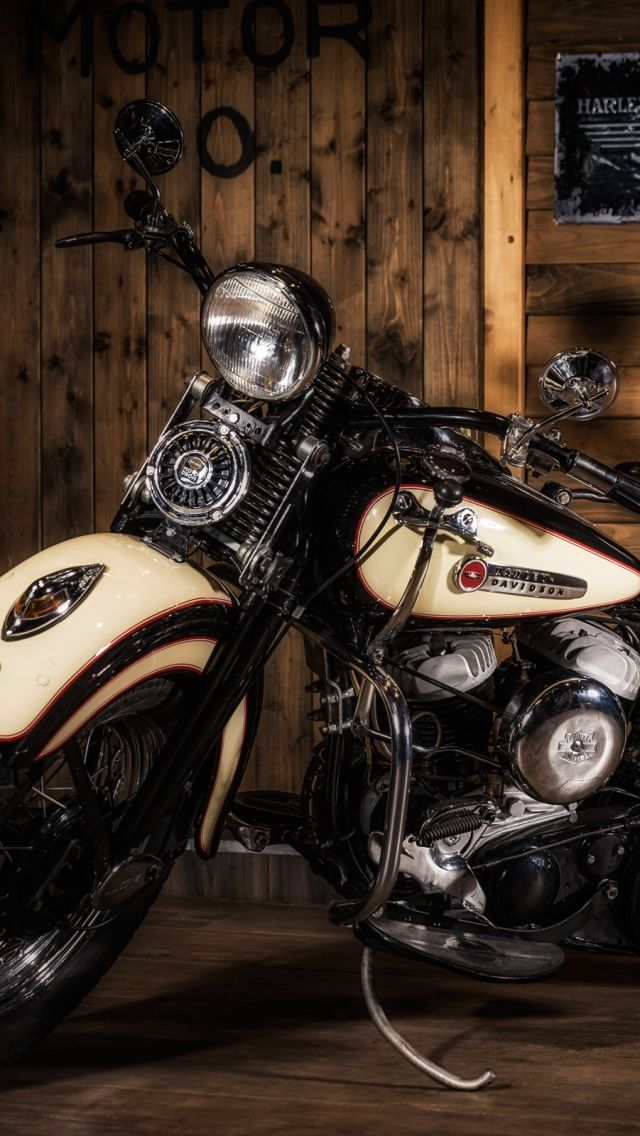 640x1136 Wallpaper Harley Davidson Motorcycle Style Avec Images