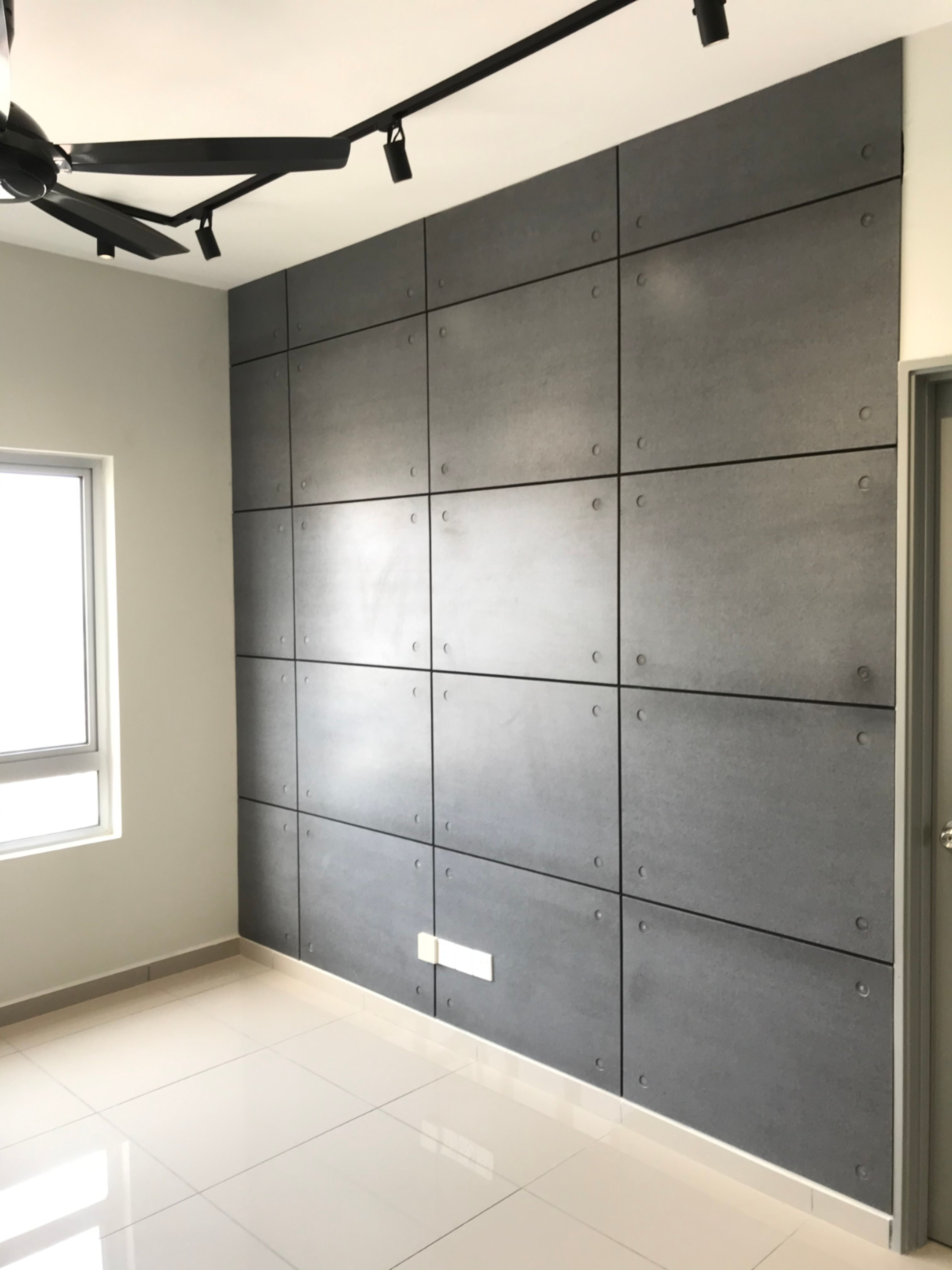 Concrete Panel I Industrial Look Feature Wall In 2020 Concrete Wall Panels Feature Wall Brick Tiles