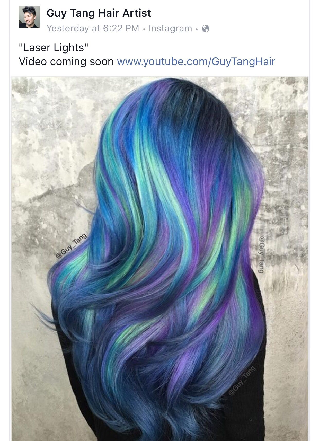Guy tang hair nutrients pinterest guy tang unique hair color