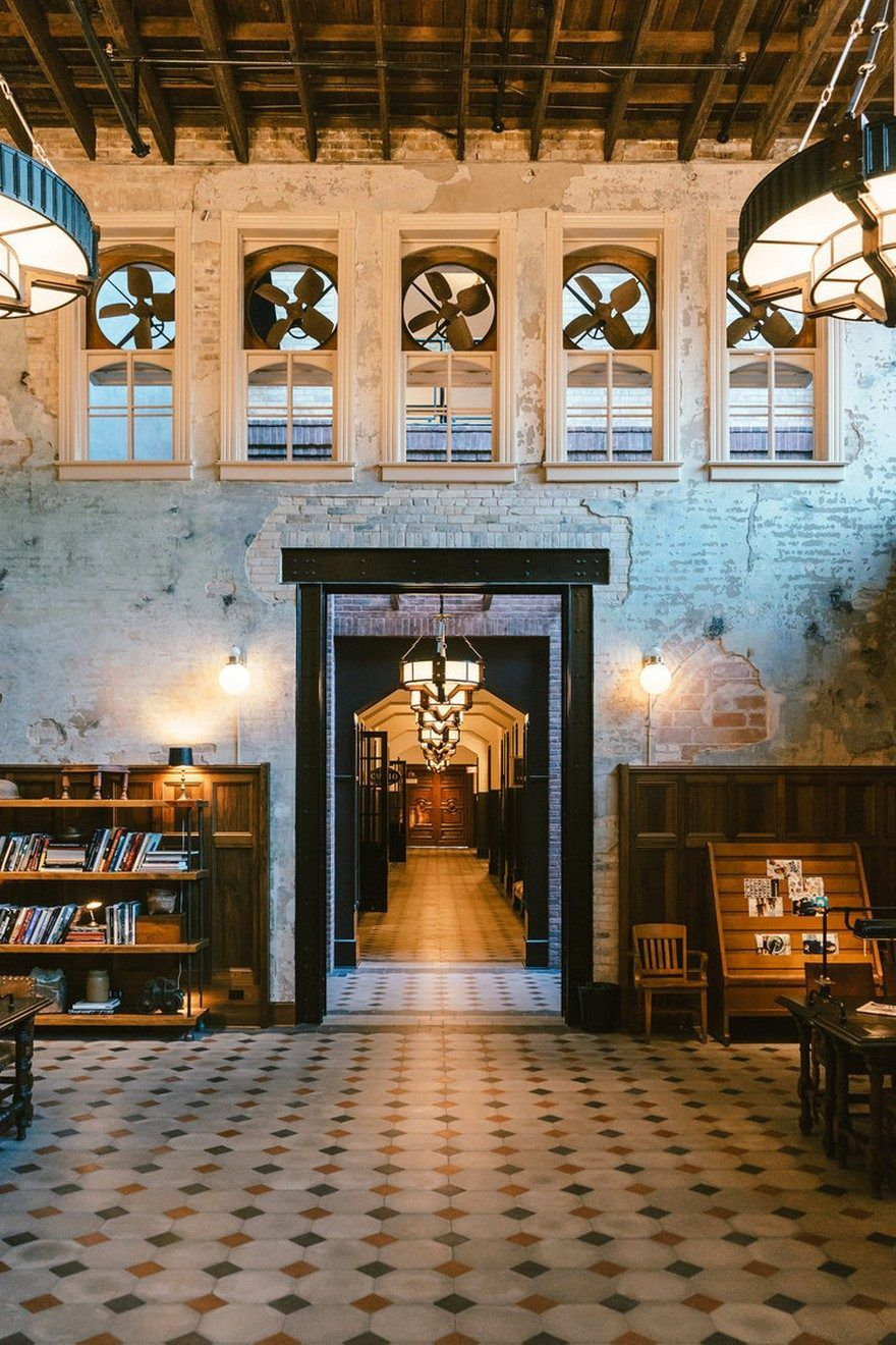 On The Site Of The Former Pearl Brewery In San Antonio Design Firm Roman  And Williams Transformed A Century Brewhouse Into Hotel Emma