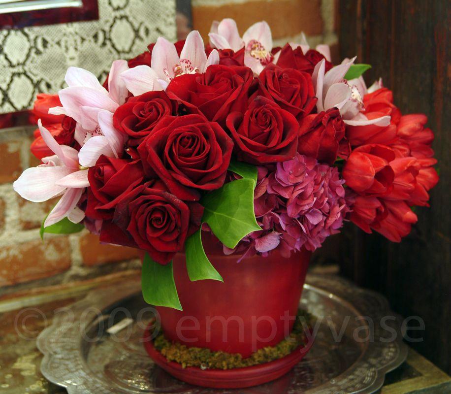Empty Vase Florist Of Los Angeles Flower Arrangements Pinterest
