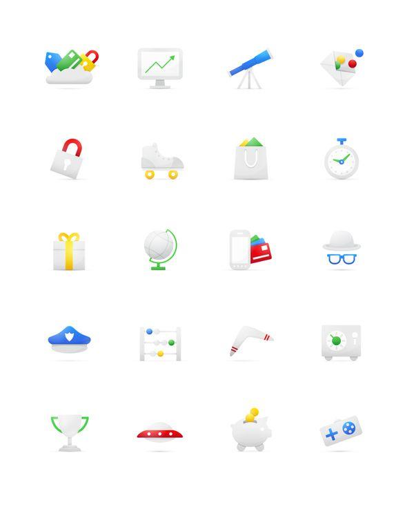 Google Wallet by Elliott Burford, via Behance