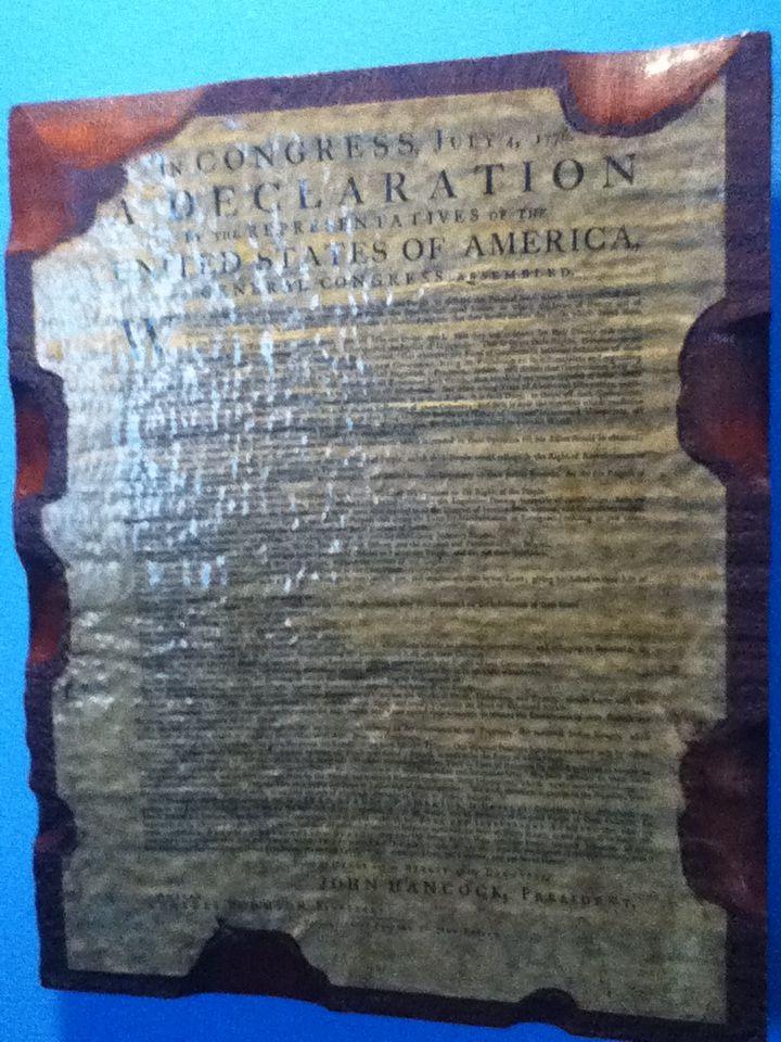 Declaration!