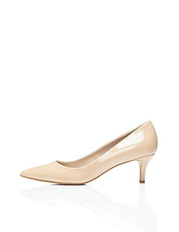 713feada4c1404 FIND Escarpins Léopard à Petits Talons Femme 2019   Chaussures ...