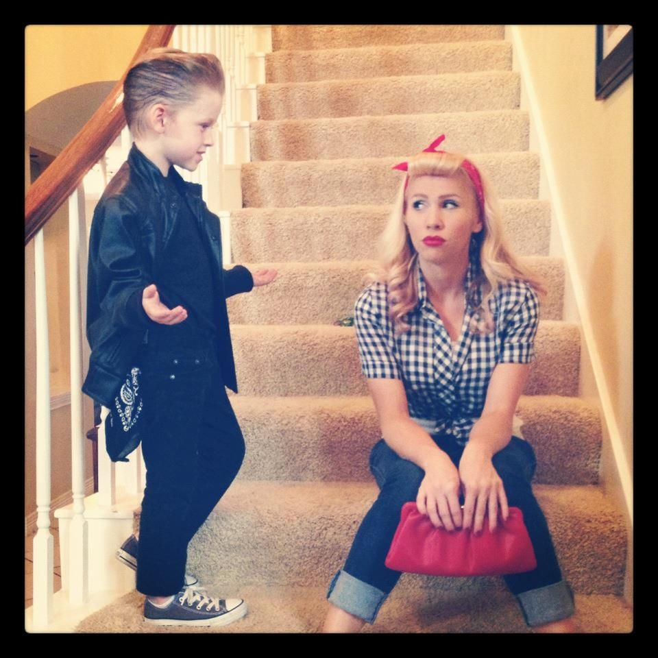 Mother and son halloween costumes  sc 1 st  Pinterest & Buenas | onda vaselina | Pinterest | Mother son Sons and Costumes