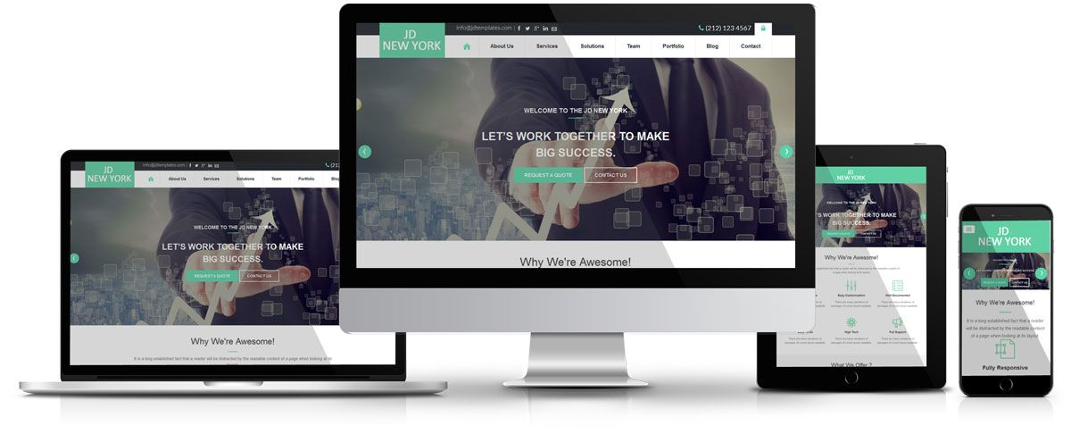 Jd newyork free joomla template free business template for jd newyork free joomla template free business template for joomla wajeb Gallery