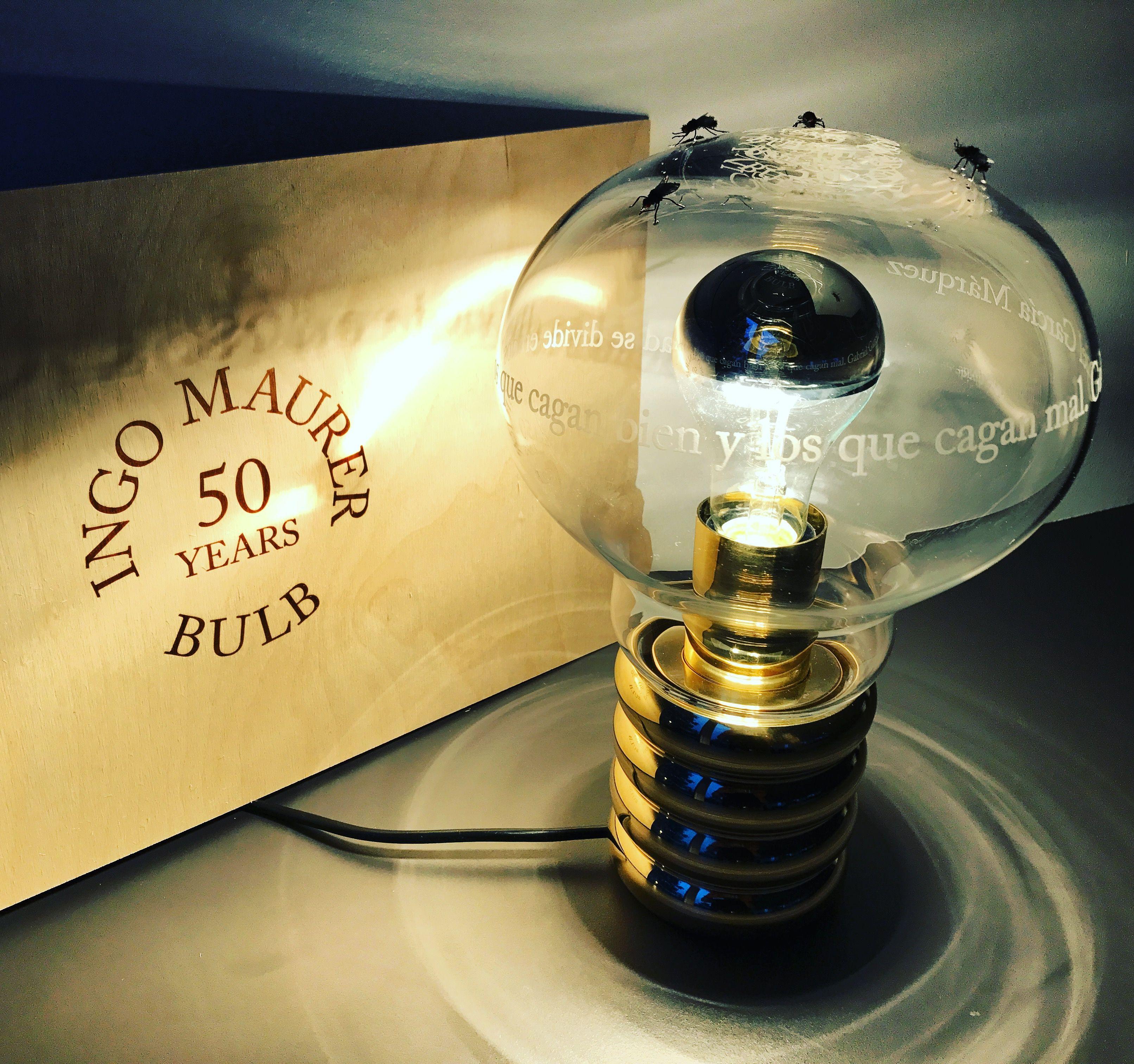 Hecht Tübingen bulb limited edition 50 jahre design ingo maurer by hecht