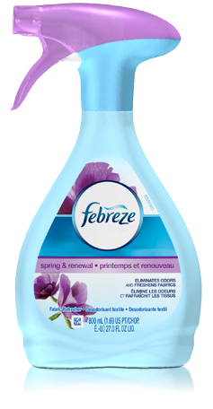 Febreze Fabric Refresher Spring Renewal Fabric Refresher Febreze Air Freshener