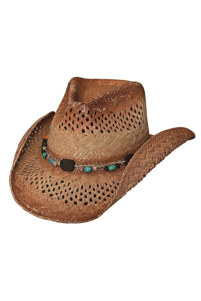 0af555face03d Bullhide Coral Reef Raffia Straw Cowboy Hat  summer  vacation