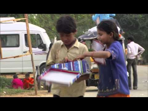 Children in India with Their Boxes-Operation Christmas Child