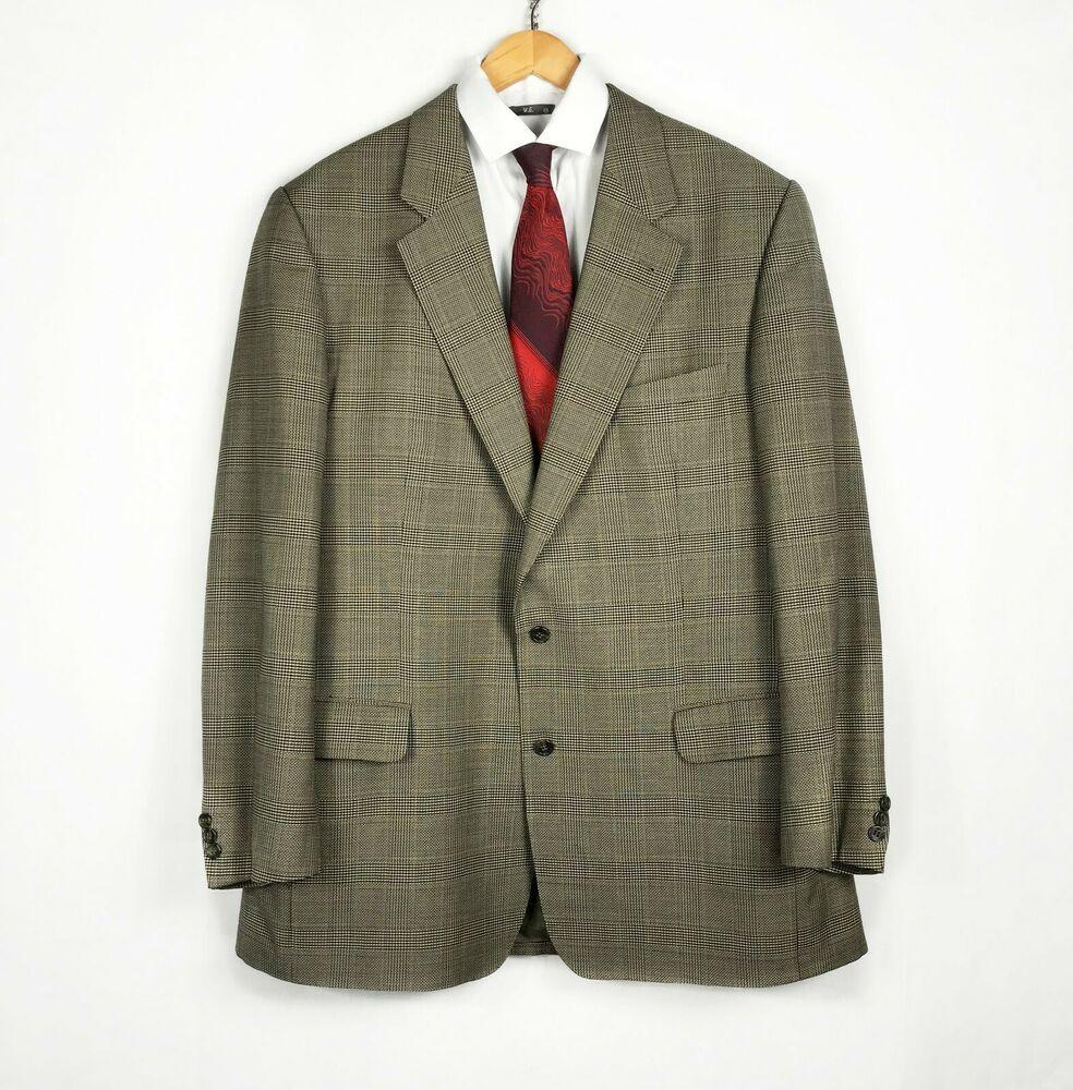 Loden Frey Two Burberry's Green S Men's Blazer Bennet Button rdoxeCBW