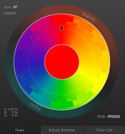 Color scheme designer 3 get a color scheme save it on html formerly known as color scheme designer use the color wheel to create great color palettes ccuart Choice Image