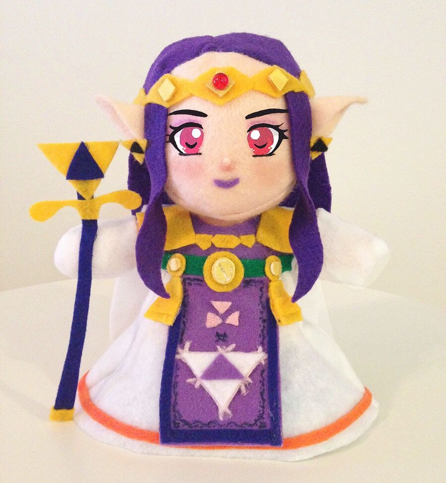 This Is A Custom Plush Of Princess Hilda From A Link Between