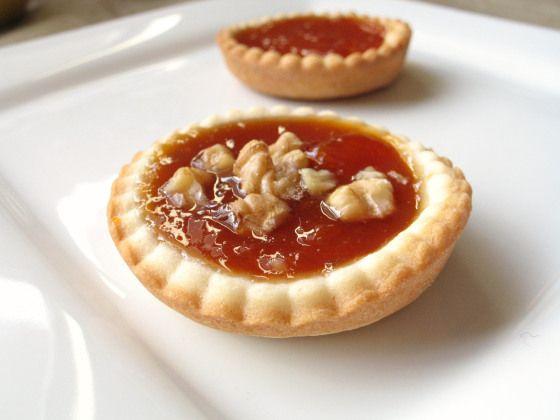 Apricot Jam Tartlets - by Jessica the Baker