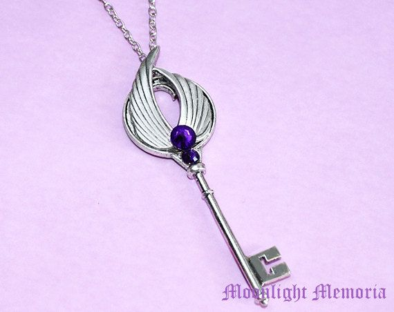 Sailor Moon Sailor Saturn Cosplay Choker Charm