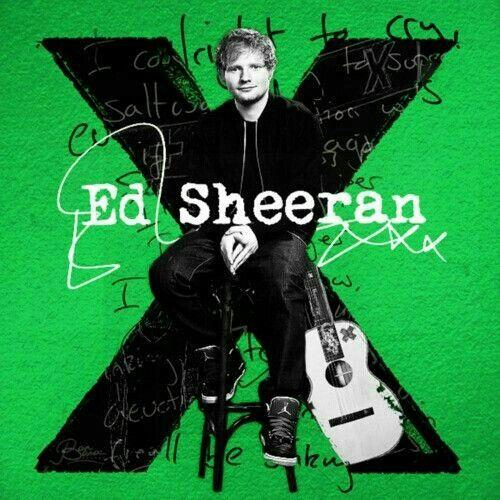 Ed sheeran X album cov...X Album
