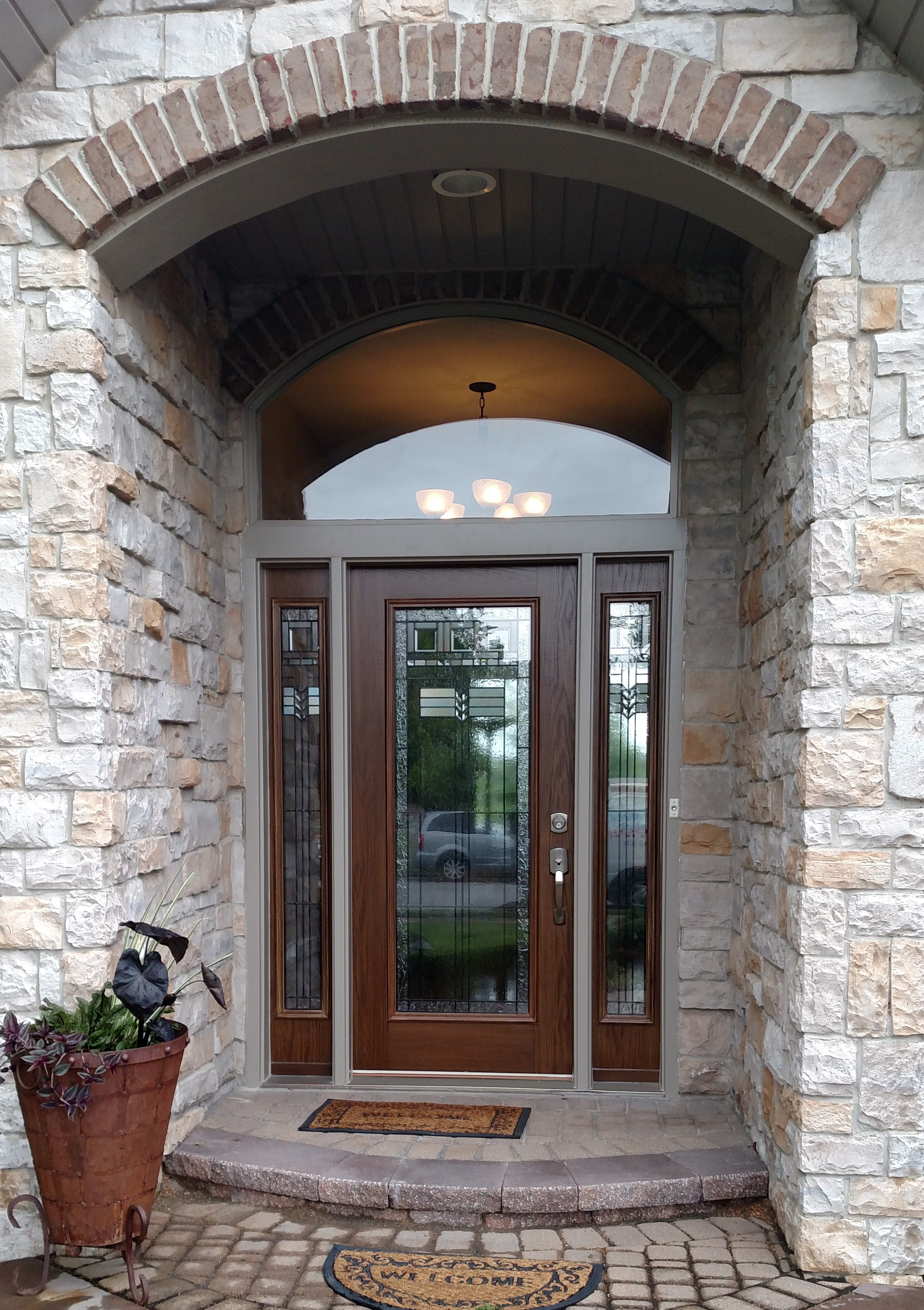Gorgeous Waudena Entry System Installed By Preferred Window And Door Exterior Door Styles Front Entry Doors Window Installation