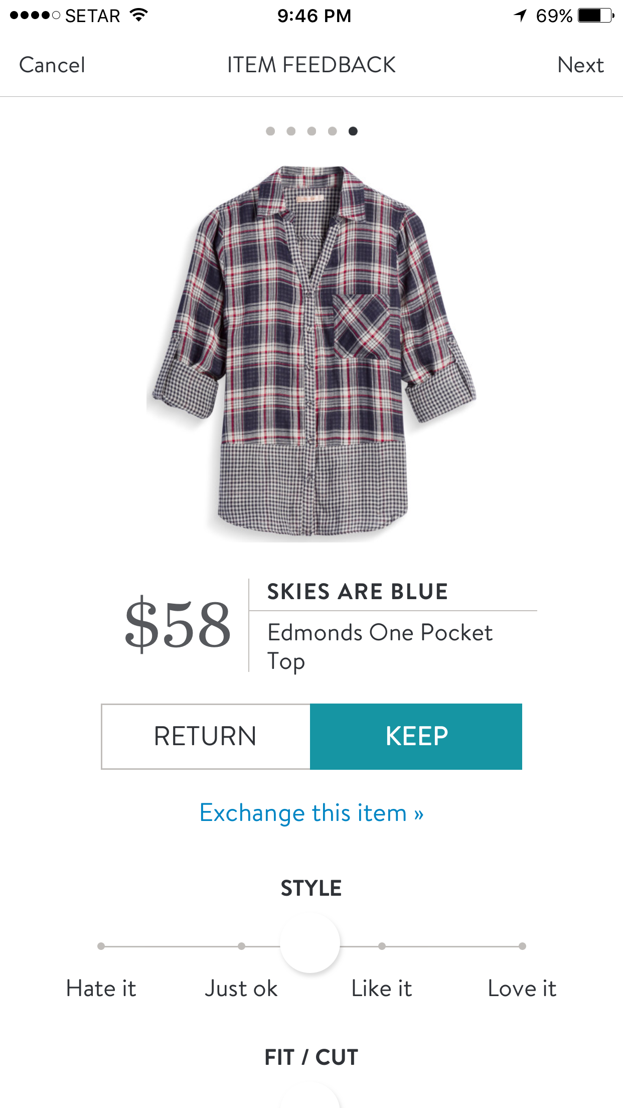 I love Stitch Fix! A personalized styling service and it's