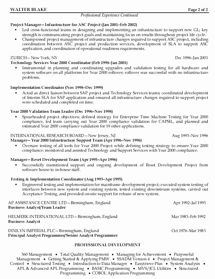 23 project manager job description resume in 2020