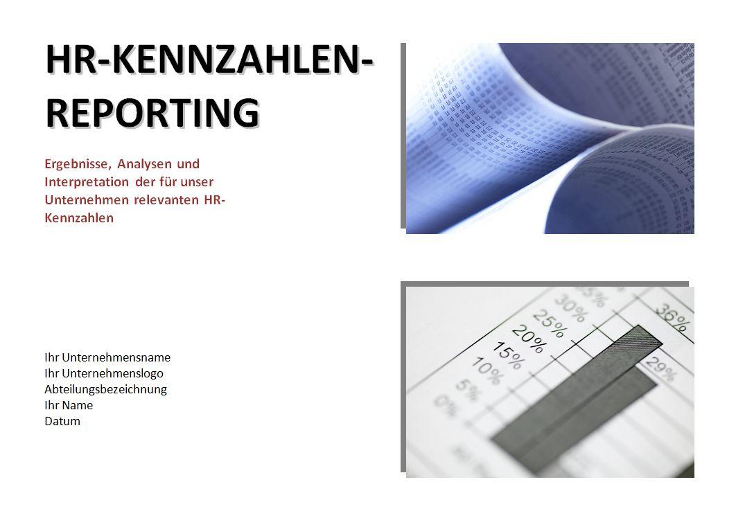 Deckblatt Aus Der Kennzahlen Reporting Vorlage 978 3 9523246 5 3