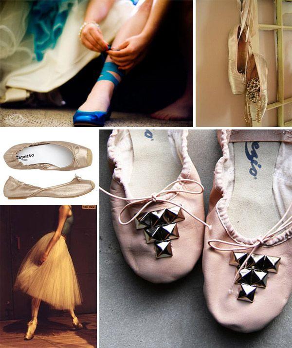 Zapatillas de ballet con tachuelas NOOOO