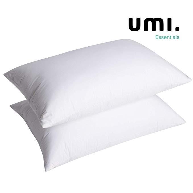 UMI Essentials White Goose Feather and
